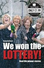 Acceptable, We Won The Lottery: Real Life Winner Stories (Quick Reads), Danny Bu