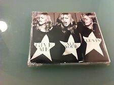 "MADONNA ""GIVE ME ALL YOUR LUVIN' "" CD SINGOLO SINGLE SIGILLATO SEALED 2 TRACKS"