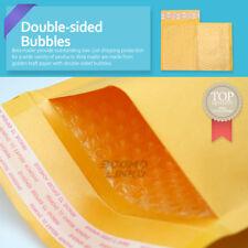 4x6 inch Kraft Self Seal Bubble Mailer Padded Envelope #0000 25,50,100,500