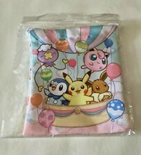 More details for japanese pokemon center - dice storage pouch bag - eevee/pikachu/piplup