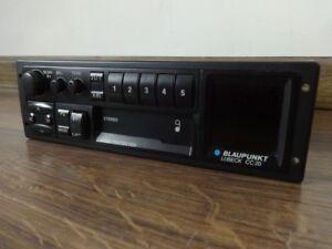 Vintage Classic VW BMW BLAUPUNKT LUBECK CC20 Car Stereo Head Unit Cassette Radio