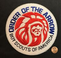 OA ORDER OF THE ARROW BOY SCOUTS OF AMERICA BSA VINTAGE 1980s JACKET PATCH MINT