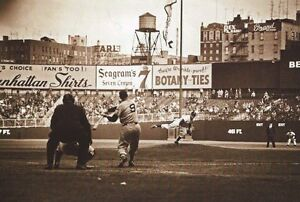 TED WILLIAMS PERFECT SWING AT THE STADIUM #9 FOR THE BOSTON RED SOX CLASSIC