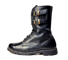 Gaerne 9 US Leather Black Buckle Biker Boots MADE ITALY