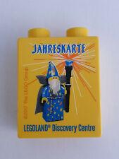 "Lego "" Jahreskarte "" Legoland Discovery Centre Promo Sammelstein 2017 Wizard"