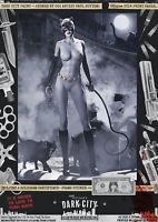 Catwoman SEXY DC Animated Universe Gotham Dark City Var. Signed A3 Comic Print