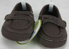 Circo Infant Boys Brown Spanish Loafers Shoes Size 0-3 months NWT