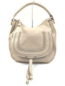 Chloe Shoulder Bag  Beiges Leather 1404631