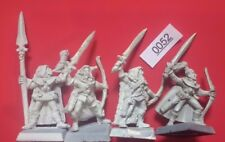 Wood Elf Glade Guard x4-musician-Wood Elves-WARHAMMER-METAL - 1990's