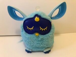Hasbro FURBY Connect 2016 Sleeping Mask Blue Interactive Bluetooth Tested Works