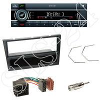 Kienzle MCR1116BT Radio + Opel (ver.Mod.) 1-DIN Blende schwarz + ISO Adapter