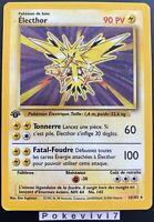 Carte Pokemon ELECTHOR 16/102 HOLO Set de Base Wizard Edition 1 FR