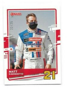 MATT DIBENEDETTO 2021 DONRUSS ARTIST PROOF #D 22/25
