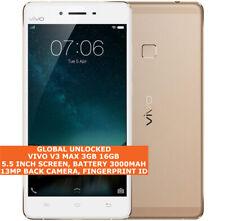 "VIVO V3 MAX 3gb 16gb Octa-Core 13mp Fingerprint 5.5"" Android 4g Smartphone Gold"