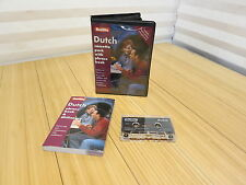Berlitz Dutch Cassette Pack with Phrase Book 1999