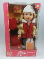 "Lotus 18"" Doll Ski Accessory Set (Pink Box)"