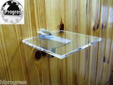 "Wall Clear Plexi-glass Square Shelf Organizer Holder Stand 5.0""X5.0"" XL Bracket"
