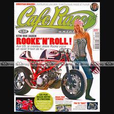 CAFE RACER ORIGINAL N°34 GUZZI V7 CLASSIC STEVE McQUEEN KTM ROOKE JADEN 2008