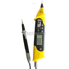 Voltage Tester Digital Multimeter AC/DC, OHM, Volts, Continuity CAT III