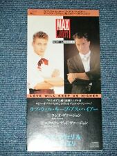 "MAX COVERI & ROBY GABRIELLI Japan 1989?Tall 3""CD Single LOVE WILL KEEP US HIGHER"
