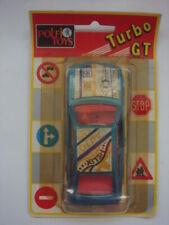 POLFI TOYS OPEL SENATOR  CAR DIECAST METALLIC CARS BLISTER GREECE 1980's RARE