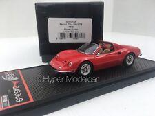 BBR Models 1/43 Ferrari Dino 246 Gts Spider 1969 Rosso Art. BBRC54A