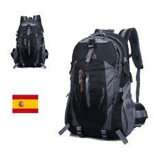 Mochila hombre de lona backpack grande bolsa Deportivo senderismo camping viaje