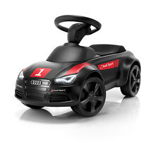 Audi junior Quattro Motorsport schwarz Rutschauto Kinderfahrzeug Rutscher Audi