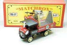 Matchbox MoY Code 2 YGL-37 Yorkshire Glaserei mit Ladung rote Box 1 von 6 OVP