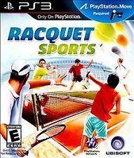 Raquet Sports (Sony PlayStation 3, Used)