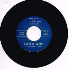 MAMIE LESTER – ALL BY MYSELF / WHAT A DREAM (Drivin' Rhythm & Blues Rocker-JIVER