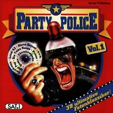 Party Police 1-39 ultimative Fetenklassiker Queen, ZZ Top, Simple Minds.. [2 CD]