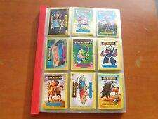 ALBUM FIGURINE CARDS SGORBIONS TOPPS 1986 SERIE COMPLETA DALLA 161 ALLA 416