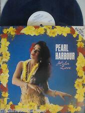"PEARL HARBOUR ~ Hula Love ~ 10"" Single PS BLUE VINYL"
