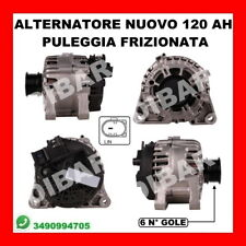 ALTERNATORE NUOVO 120AH FORD FOCUS III 1.6 TDCI DA 2010 KW85 CV115 T1DA T1DB