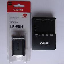 LP-E6N Battery &LC-E6E Charger Fr Canon EOS 5D Mark II III 70D 60D 60Da 5D 6D 7D
