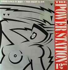 "THE POWER STATION - Some Like It Hot And The Heat Is On (12"") (G+/VG)"