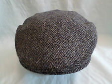 CABALLEROS Country LATERAL Escocés Harris Tweed 100% Lana Gorra Dirigir De