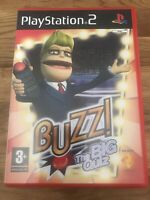 Buzz! The Big Quiz (Sony Playstation 2/PS2) VGC Complete With Manual