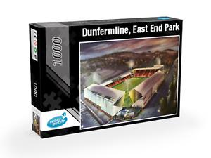 Dunfermline - East End Park Under Lights - 1000 piece Jigsaw