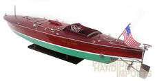 "Hand-crafted Miss Columbia G1 Race Boat 33"" Display Model Boat"