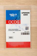 Sochi 2014 Olympics Staff Accreditation OCOG Upgrade Card CES Venue Management