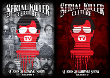 SERIAL KILLER CULTURE TV 2 SEASONS - 2 DVD'S - BRAND NEW FREE SHIPPING