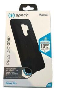 Speck Presidio Grip Series Case for Samsung Galaxy S9+ Plus - Black