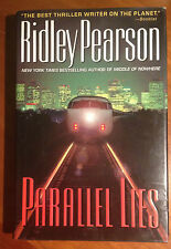 PARALLEL LIES by Ridley Pearson 2001 First Edition - First Printing
