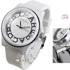 MARC BY JACOBS LADIE'S WHITE RUBBER DESIGN WATCH MBM4015