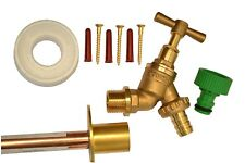 Outside Tap Kit Comes With Through Wall Mounting Flange and Accessories *