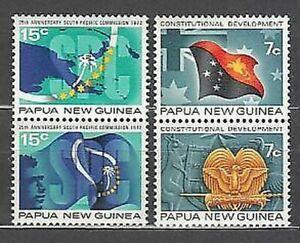 Papua Et Neuf Guinée - Courrier Yvert 213/6 MNH Drapeaux