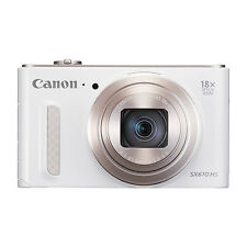 Canon PowerShot SX610 20.2MP Digital Camera 18x Optical Zoom Wi-Fi / NFC White