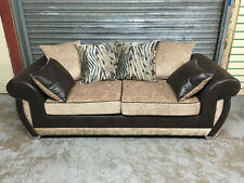 Three Seater Sofa Textured Modern Furniture Suites